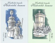 CZECH REPUBLIC, 2009, Booklet 137/38, Historic Stoves III - Czech Republic