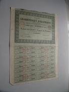 CHARBONNAGES D'EKATHERINE / Action De Cent Francs N° 357,679 ( Voir Photo Pour Detail )! - Mines