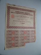 Cie Gréco / Action De Cent Francs N° 000,189 ( Voir Photo Pour Detail )! - Actions & Titres