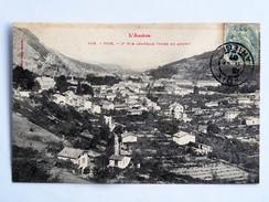 C.P.A. 09 FOIX : Vue Générale Prise En Amont, En  1907 - Foix