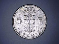 BELGIË - 5 FRANCS 1967 - 1951-1993: Baudouin I