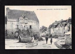 Guérande...(Loire-Inf.)...un Coin Du Vieux Saillé...animée....1918... - Guérande