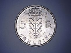 BELGIË - 5 FRANCS 1978 - 1951-1993: Baudouin I
