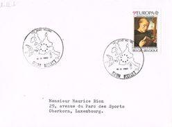 26049. Carta MELLET (Belgien) 1980. Tema Europa, Les Bon Villers - Bélgica