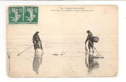 CPA / PECHE A LA SENNETTE / CABOURG-DIVES - Pêche