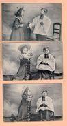 Serie De 7 Cpa Carte Postale Ancienne - La Confession Royer Nancy - Oiseaux