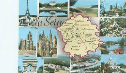 Cpsm  - Departement -    La Seine , Divers Vues     S650 - Sonstige Gemeinden