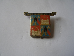 Pins Saint Germain Du Puch - Steden
