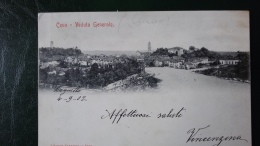 CUNEO.CEVA.VEDUTA GENERALE..CARTOLINA POSTALE.ITALIANA.VIAGGIATA.STORIA POSTALE...104 - Cuneo