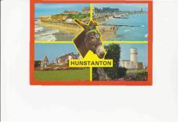 Postcard - Hunstanton - 4 Views - Card No. 2DS 144 - Very Good - Cartoline