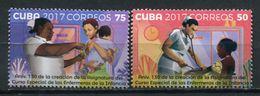 Cuba 2017 / Children Nurse MNH Enfermeras Infantiles Krankenschwestern / Cu5402  1 - Médecine