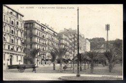 ALGERIE - ALGER - Le Boulevard Général Farre - Alger