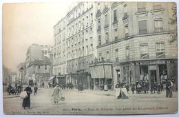 RUE DE REUILLY . VUE PRISE DU BOULEVARD DIDEROT - PARIS - Arrondissement: 12