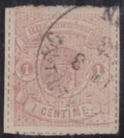 Luxembourg         .     Yvert  .    16        .       O      .         Gebruikt  .     /   .   Cancelled - 1859-1880 Wapenschild