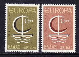 Europa Cept 1966 Greece 2v ** Mnh (37040A) Promotion - 1966