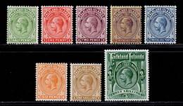Falkland Islands 1921-1928 MH Set SG 73/80 Cat £150 - Falkland Islands
