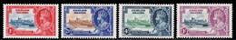 Falkland Islands 1935 Silver Jubilee MH Set SG 139/142 Cat £48 - Falkland Islands