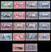 Falkland Islands 1938-1950 MH Set SG 146/163 Cat £475 - Falkland Islands