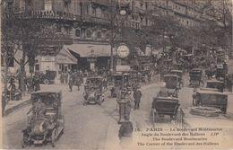 CPA N°14 Dept 75 PARIS Le Boulevard MONTMARTRE Angle Du Boulevard Des Italiens - Other