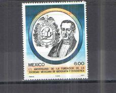 Messico PO 1983 Soc.Geografia E Stat.. Scott.1314 See Scans Nuovi - Mexico