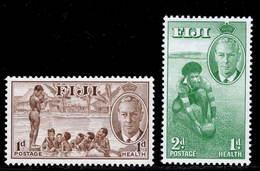 Fiji 1951 MNH Set SG 276/277 - Fiji (...-1970)