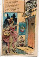 CARTE PUBLICITAIRE MARGARINE ASTRA - Publicité