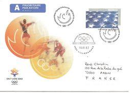 2002  Jeux Olympiques De Salt Lake ; Entier Postal De Norvège - Winter 2002: Salt Lake City - Paralympics