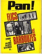 PAN !   N° 5  FLICS ET BARBOUZES 1972  -  80 PAGES  - - Livres, BD, Revues