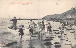 50 - MANCHE / Granville - 501327 - Le Canot De Sauvetage - Beau Cliché Animé - Granville