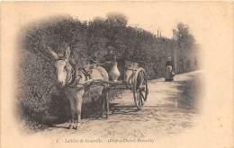 50 - MANCHE / Granville - 501331 - La Laitière - Attelage Avec âne - Beau Cliché Animé - Granville