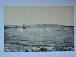 FIUME ISTRIA Lanterna Porto Baross AK Vecchia Cartolina Croazia 513 - Croatie