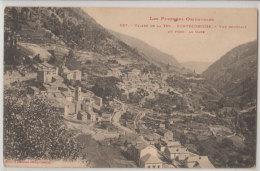 66 Fontpedrouse 1930 Vue Générale Au Fond La Gare éditeur Labouche N°157 - Autres Communes