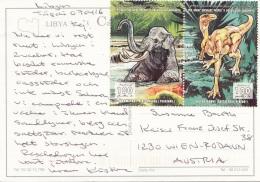 LIBYA - 2 Beautiful Special Stamp - Libya