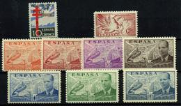 España Nº 866 Y 879/86. Año 1938 - 1951-60 Lettres