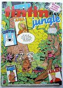PERIODIQUE SUPER TINTIN N° 33 Jungle, Aria, Adler, Cubitus, Capitaine Sabre, Lester Cockney ... - Tintin