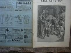 L'ILLUSTRATION 2721 CENTENAIRE DE L'ECOLE NORMALE SUPERIEURE  20 Avril 1895 Complet Avec Sa Couverture - Journaux - Quotidiens