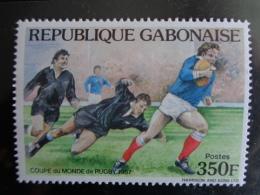 GABON 1987 Y&T  N° 644 ** - COUPE DU MONDE DE RUGBY - Gabon (1960-...)