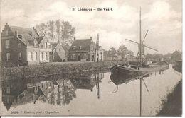 St.Leonards Sint Leenaarts De Vaart Molen En Zeilschip  Hoelen 6454 - België