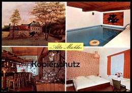 ÄLTERE POSTKARTE ALTE MÜHLE Postcard Ansichtskarte Cpa AK - Würselen