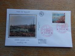 FRANCE (1991) CROIX ROUGE Port De Toulon - FDC