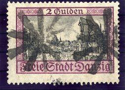 DANZIG 1924 2 G. With Danzig-Langfuhr Parcel Cancel  Michel 209 - Dantzig