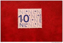 Nikkels 0,10 Euro; NVPH 2135 (Mi 2049); 2002 POSTFRIS / MNH ** NEDERLAND / NIEDERLANDE / NETHERLANDS - 1980-... (Beatrix)