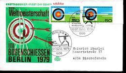 ALLEMAGNE BERLIN  FDC   1979   Tir A L Arc - Tiro Con L'Arco