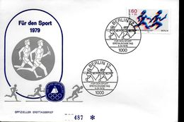 ALLEMAGNE BERLIN  FDC   1979   Tir A L Arc - Archery