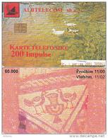 ALBANIA - Birds, Albtelecom Telecard 200 Units, Tirage 60000, 11/00, Used - Albania