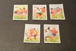 K12649-  Bloc And Set MNH Rep. De Guinee 1995- Worldcup Soccer -football France 1998 - Copa Mundial