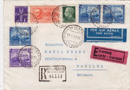 Brief Von Roma Nach Basel - Storia Postale
