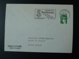03 Allier Commentry Costume 1979 - Flamme Sur Lettre Postmark On Cover - Disfraces