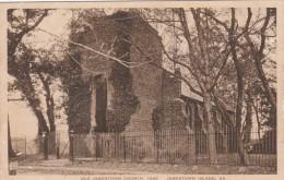 Virginia Jamestown Island Old Jamestown Church 1929 Albertype