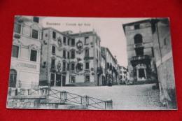 Bassano Vicenza Contrà Del Sole 1917 Ed. Al Municipio - Vicenza